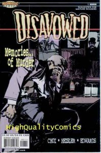 DISAVOWED #1 2 3 4 5, NM+, Murder, Choi, Detective, Intrigue, 2000
