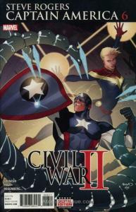 Captain America: Steve Rogers #6 VF/NM; Marvel | save on shipping - details insi
