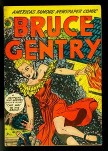 Bruce Gentry #3 1949- Good Girl Art- Golden Age Crime- VG+