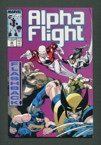 Alpha Flight #52  / 7.5 - 8.0 VFN /  November 1987