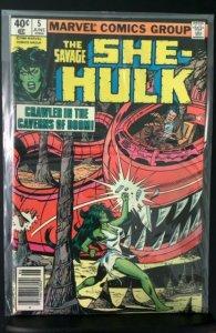 The Savage She-Hulk #5 (1980)