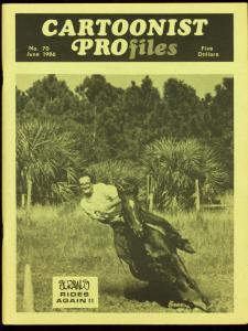 CARTOONIST PROFILES #70-1986-HANK KETCHAM-3-D COMICS FN