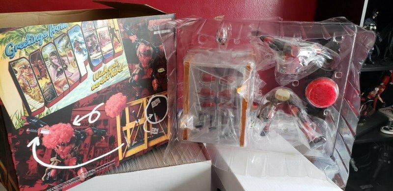 SUPER DEADPOOL KOTOBUKIYA ARTFX PVC STATUE Marvel Now Comics 1/6th Scale NIB!