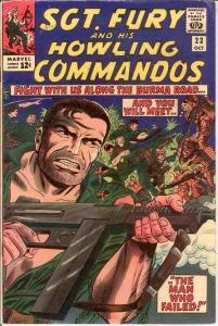 SERGEANT FURY 23 F+   October 1965 COMICS BOOK