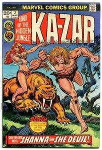 Ka-Zar #2 (7.0) Shanna, The She-Devil Bronze Age Marvel