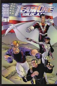 Team One: WildC.A.T.S. #2, NM + (Stock photo)
