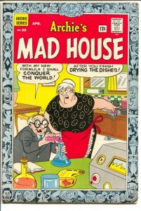 Archie's Mad House #39 1965-Captain Sprocket Robot Story-Dr Zodiac-FN