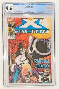 X-Factor 88  Comic  CGC Graded 9.6  Peter David Story  Cover : Quesada & Milgrom