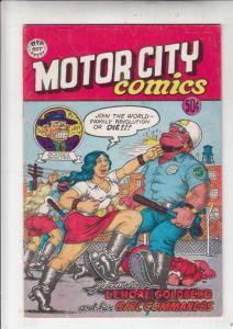 Motor City Comics #1 (Apr-69) VG+ Mid-Grade Lenore Goldberg