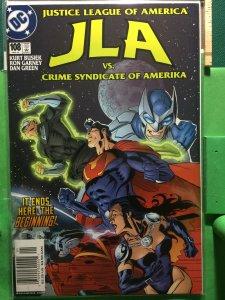 JLA #108 vs The Crime Syndicate of America