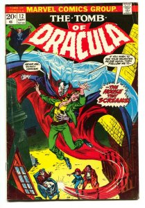 Tomb of Dracula #12 - 2nd appearance Blade the Vampire Slayer Marvel