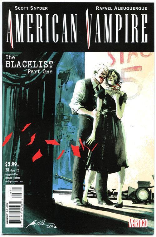 AMERICAN VAMPIRE #28, VF/NM, BlackList, Vertigo,2010,1st printing,more in store