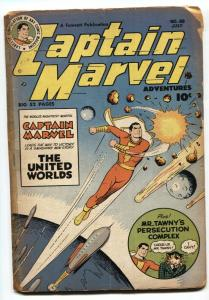 Captain Marvel Adventures #98 1949- Mr Tawny- Golden Age