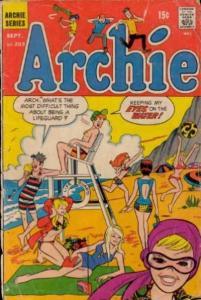 Archie Comics #203, VG+ (Stock photo)