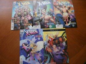 5 NEW Mint Marvel Comic: UNCANNY X-MEN (2019) #2 3 4 5 6 Disassembled Brisson