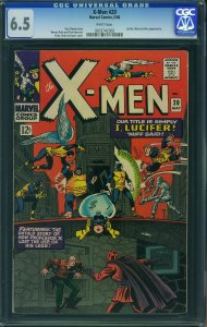 X-men #20 (Marvel, 1966) CGC 6.5