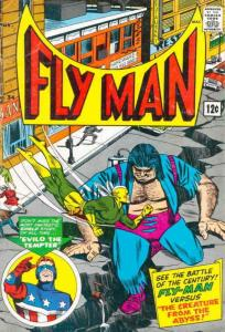Fly Man #34 VG; Radio | low grade comic - save on shipping - details inside