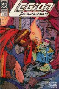 Legion of Super-Heroes (1989 series) #14, NM (Stock photo)