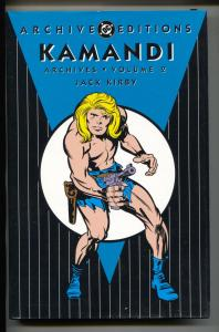 Kamandi Archives-Vol 2-Golden Age Color Reprints-Hardcover