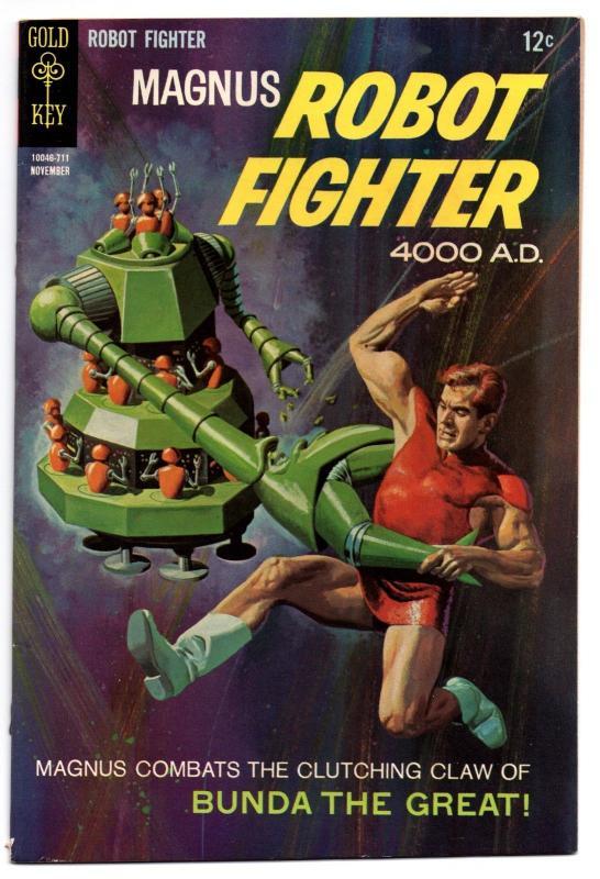 Magnus, Robot Fighter #20 (Nov 1967, Western Publishing) - Fine