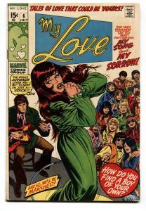 My Love #6 1970-Marvel-Dick Ayers-Sal &John Buscema-Gene Colan-fn