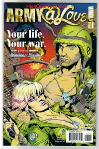 ARMY AT @ LOVE #1, NM+, Rick Veitch, Morale, Vertigo, 2007, more in store