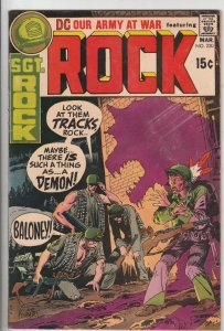 Our Army at War #230 (Mar-71) FN/VF Affordable-Grade Easy Company, Sgt. Rock