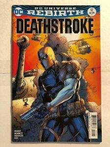 Deathstroke #12 (2016) - Rebirth