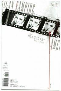 AMERICAN VAMPIRE #31, VF+ , BlackList, Vertigo, 2010, Variant, more in store