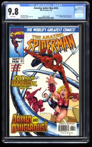 Amazing Spider-Man #426 CGC NM/M 9.8 White Pages
