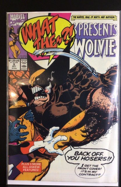 What The--?! #9 (1990)
