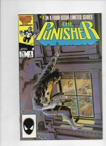 PUNISHER #4, NM-, Mike Zeck, Mini Series, 1986, Marvel, more in store