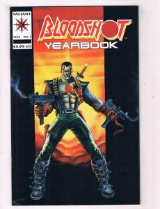 Bloodshot Yearbook #1 NM Valiant Comics Modern Age Comic Book 1994 DE43 TW14