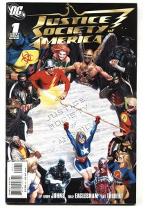 Justice League of America #1 1st Cyclone  DC  NM-
