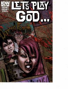 Lot Of 2 Comic Books IDW Let's Play God #1 and Dark Horse Let Me In #2  MS9