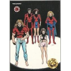 1993 Valiant Era HARBINGER #6 - Card #50