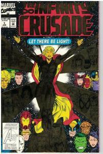 INFINITY CRUSADE (1993) 1 (3.50 CVR) VF-NM COMICS BOOK