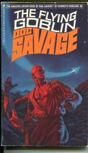 DOC SAVAGE-THE FLYING GOBLIN-#90-ROBESON-FN/VF-BOB LARKIN COVER-1ST EDTION FN/VF