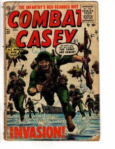 COMBAT CASEY (1952 ATLAS) 23 POOR August 1955