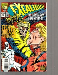 12 Marvel Comic Books Excalibur # 79 83 84 85 87 88 90 90 92 94 95 96  EK19