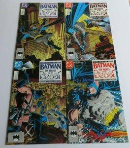Batman Ten Nights Of The Beast #417-420 Complete Set VF+ DC Starlin Aparo 1988