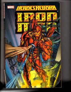 Heroes Reborn Iron Man Marvel Comics Graphic Novel Comic Book Avengers MF4
