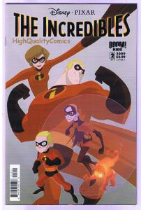 The INCREDIBLES #2, Dash, Mirage, Movie, Syn, 2009, NM (a) Super Family