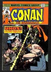 Conan the Barbarian #51 (1975)