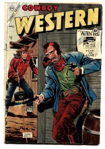 Cowboy Western #51 1954-Dick Giordano-Golden Arrow-Rocky Lane-Jesse James-VG