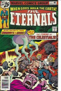 THE ETERNALS #2 AND #4 FINE CONDITION $25.00
