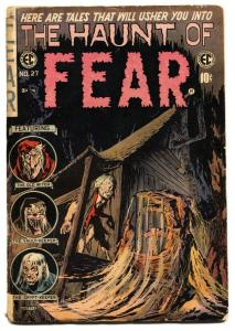 Haunt of Fear #27 1954- EC Horror Comic book  Reed Crandall