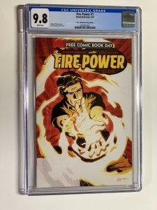firepower 1 cgc 9.8 fcbd kirkman Free comic book day