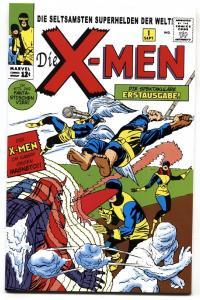 X-MEN #1 1999-MARVEL COMICS Rare German Reprint-NM-
