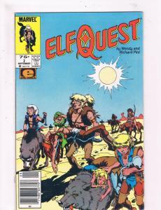 Elf Quest #2 Marvel Comic Book Volume VF Wendy & Richard Pini Issue DE2
